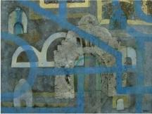 Monumento de la revolución (Mixta sobre tela 50x65cm)